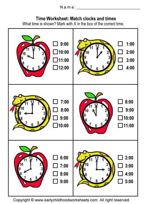 printable telling time games for kindergarten printable clock worksheets for kindergarten worksheets for