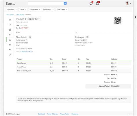 invoice design themeforest download invoice template html5 rabitah net