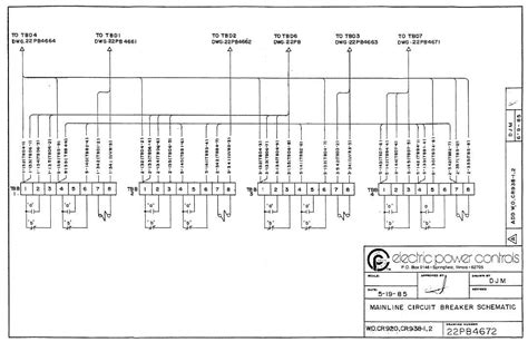 mainline circuit breaker schematic