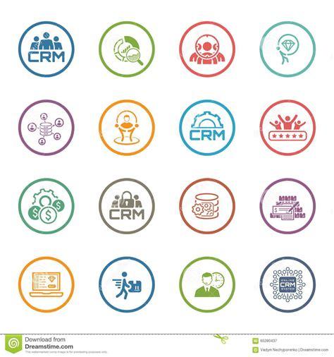 icon design company flat design business icons set stock vector