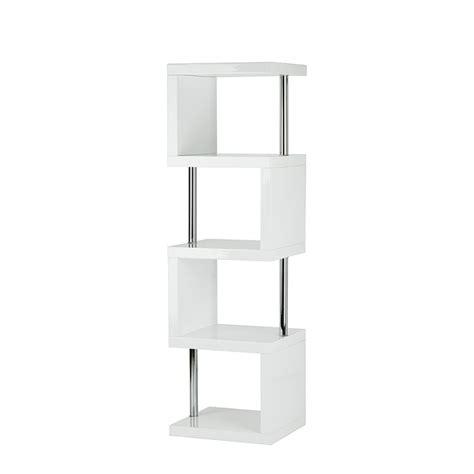 etagere 50 cm largeur etag 232 re blanc brillant home24 fr