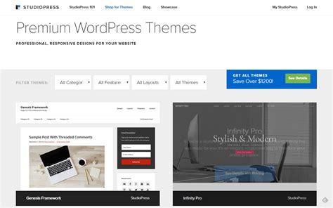 premium wordpress theme shops conquer wordpress