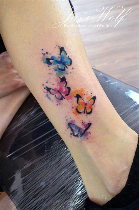 watercolor tattoos kansas city best 25 watercolor butterfly ideas on