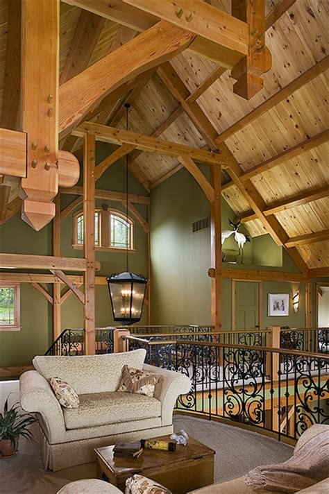 timber frame home interiors woodhouse timber frame home contemporary living room new york by woodhouse post beam homes