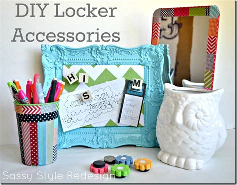 how to make locker decorations at home back to school diy locker art ideas roommomspot