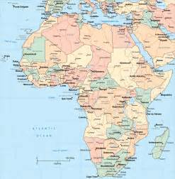 Africa Map Capitals by Africa Map Capitals
