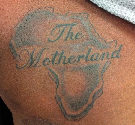 tattoo care for black skin the motherland by joe parisi tattoonow