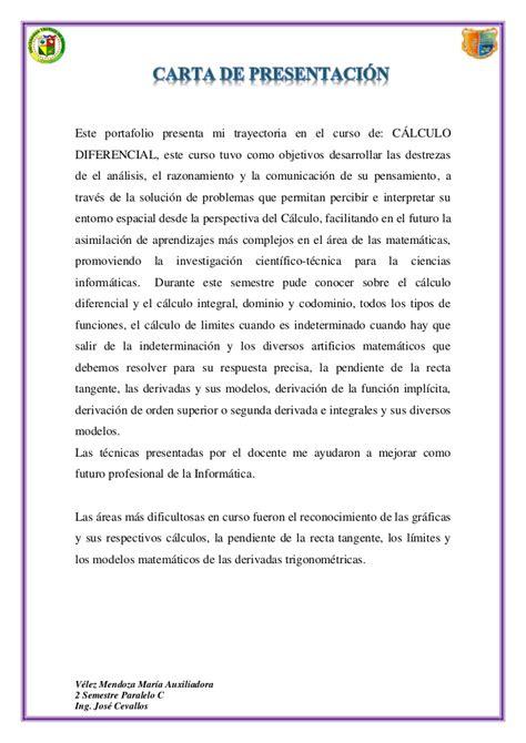 Modelo De Carta De Presentaci N De Un Curriculum carta de presentacion