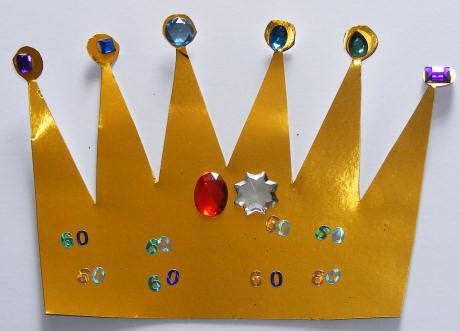 crown craft ks1 crown collage craft for kids