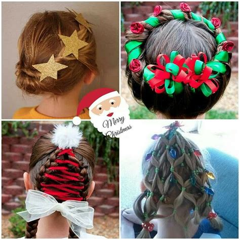 44 best images about christmas hair on pinterest