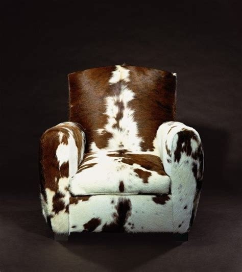 Faux Cowhide Furniture - how to make a faux cowhide l shade