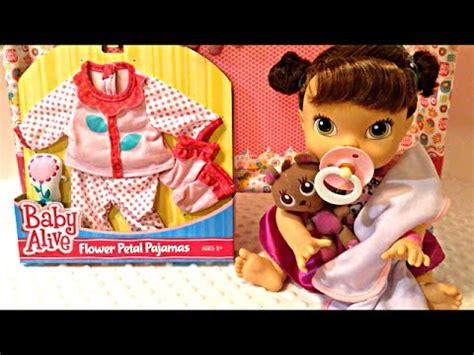 baby alive clothes toys r us baby alive flower petal pajamas from toys r us on my baby