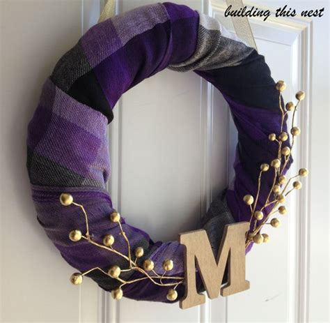 dollar store scarf fall wreath dollar stores fall