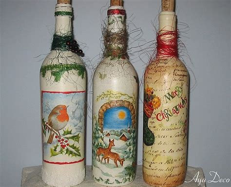 Bottle Decoupage - decoupage bottles decoupage bottles