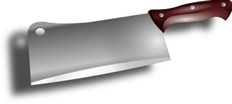 Rate Kitchen Knives by Cleaver Clip Art At Clker Com Vector Clip Art Online