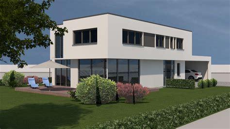 flöhe zuhause neubau modernes flachdachhaus mit carport in wei 223 enburg