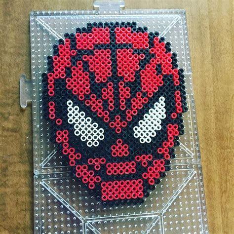 spiderman hama pattern 87 best marvel images on pinterest bead patterns