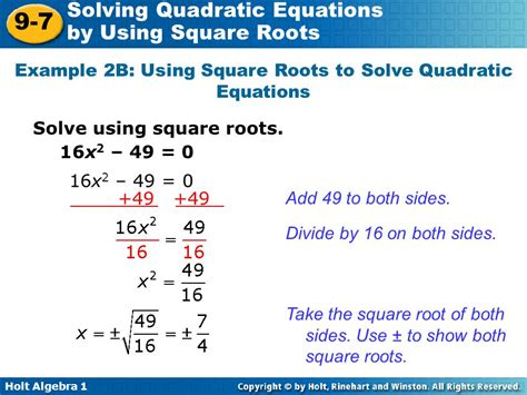 Solving Quadratic Equations By Finding Square Roots Worksheet by 28 Worksheet On Solving Quadratic Equations By