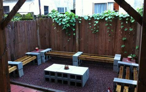 cinder block furniture backyard 25 concrete block ideas to try and enjoy cheap diy outdoor