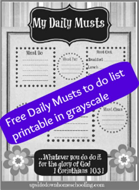 printable to do list for moms busy mom s printable to do list