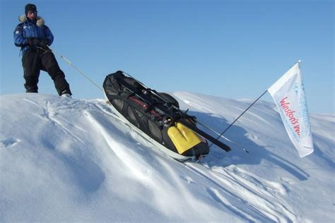 arctic challenge sled race in pictures arctic race for adventurer kevin sheppard