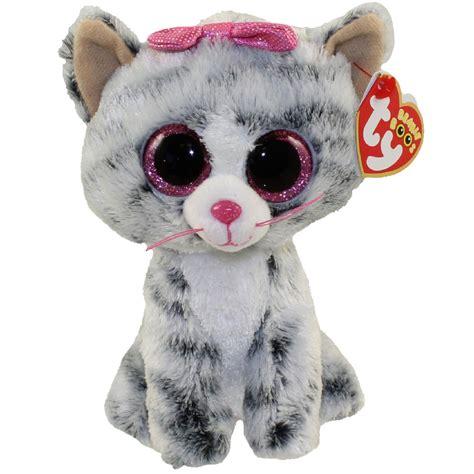 beanie boo ty beanie boos the grey tabby cat glitter