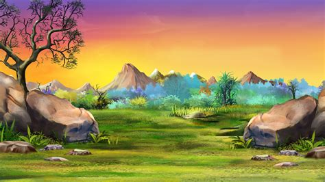 Tree Mural For Wall lion king landscape custom wallpaper