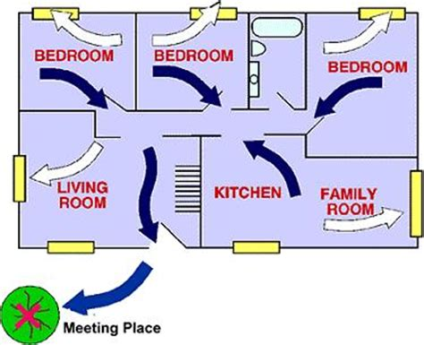 house fire escape plan city of mercer island fire escape planning