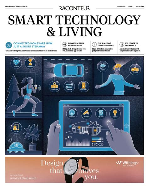 smart tecnology smart technology and living archives raconteur
