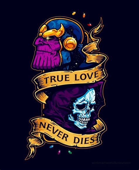 thanos amp death comics pinterest death