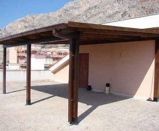 pendenza tettoia costruire una tettoia