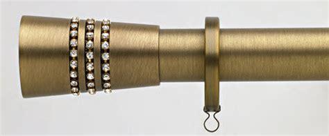 high end curtain rods swarovski carrera bronze i finials curtain rods i high