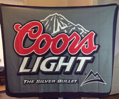 bud light fleece blanket coors light beer fleece throw blanket 50 quot x 60 quot black gray