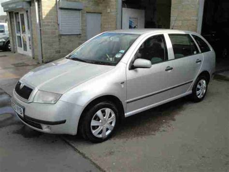 skoda fabia comfort 1 9 tdi skoda fabia comfort 1 9 tdi estate low start price with