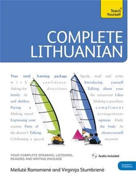 lithuanian lithuanian for beginners collection lithuanian in a week lithuanian phrases books lithuania travel lithuania travel baltic books complete lithuanian beginner to intermediate course