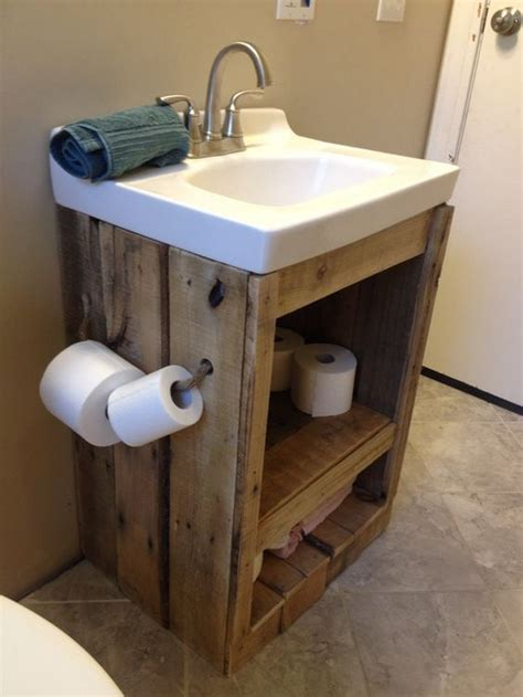 remove bathroom vanity woodworking projects plans what a great ideas 60 bathroom pallet projects on a