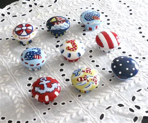 Boys Dresser Knobs by Boys Painted Nautical Dresser Knobs Ea Boys Drawer