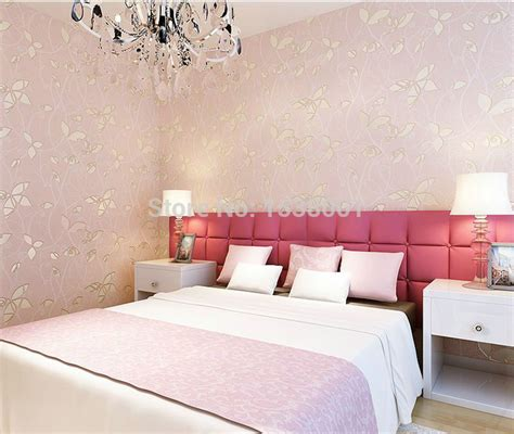 bedroom expressions cristo bedroom group b4 ebcrh pink non woven wallpaper 3d stereoscopic relief pastoral