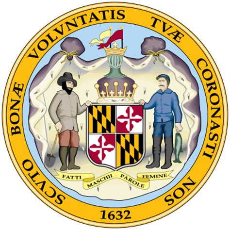 Federal Search Maryland Maryland State Seal Encyclopedia Children S Homework Help