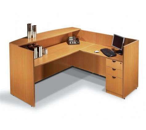 Buy Office Desks Single Pedestal Reversible Contemporary Reception Desk Contemporary Office Desks Buy Office