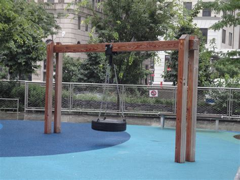 tyre swing frame whither the swing of tire swing park batterypark tv we