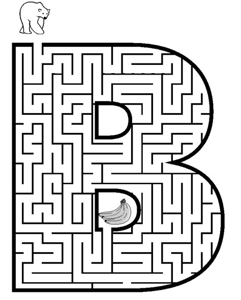 Coloring Pages Mazes printable maze to color coloring part 4
