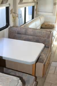 Motorhome Cushions Redecorating The Rv Upholstery Paint For Dinette Cushions