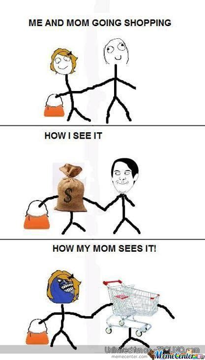 Meme Online Shopping - shopping with mom by trollfather meme center