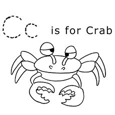 color starting with c letter c coloring pages for toddlers 2439791