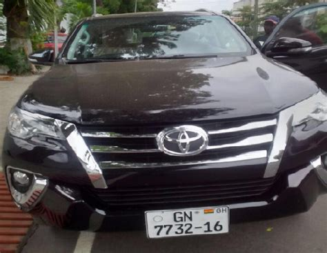 Regent Toyota Abudus Thankful As Mahama Gives Abudu Regent A Car As Promised