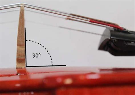 Contrabass Doublebass Bridge position a violin viola fiddle cello or bass bridge