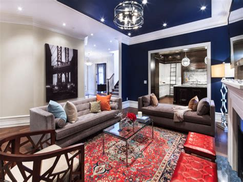 red and blue home decor rooms with carpet pictures navy blue and red living room