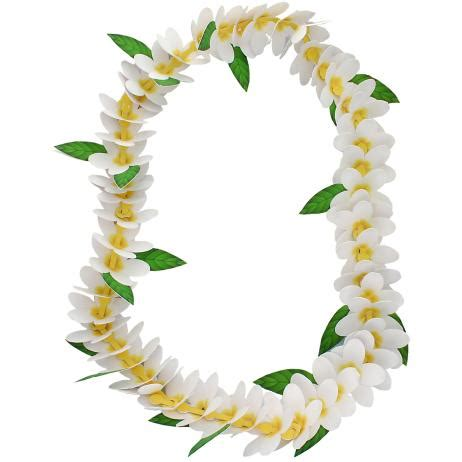paper flower lei pattern canon papercraft event costumes frangipani flower lei