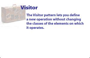 visitor pattern definition behavioral pattern image gallery 187 chain 187 command